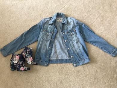 True Religion jacket and Billy Ella booties