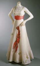 Famous Lobster dress, a collaboration with Salvador Dali