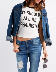 Tee-shirt from Charlotte Russe