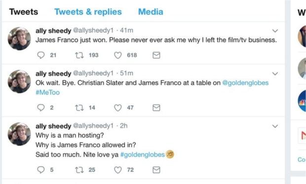 Ally Sheedy Twitter