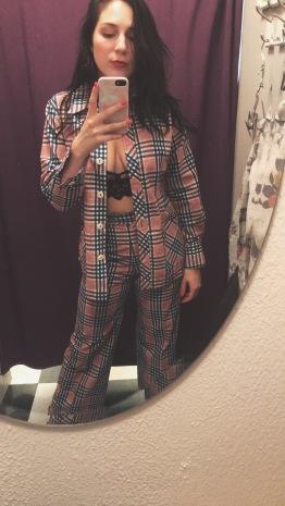 fun vintage suit
