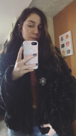 Thrifted this faux fur in Chicago a few years ago