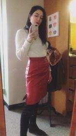 vintage skirt score from FL