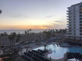 Sunrise in Huntington Beach