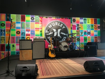 Concert space at Hurley