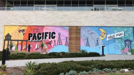 Huntington Beach mural